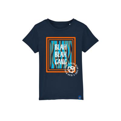 T-shirt Blue Zeb